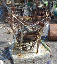 Umweltschutz & Umweltaktivitäten - künstliche Riffkonstruktion Amed Tauchzentrum