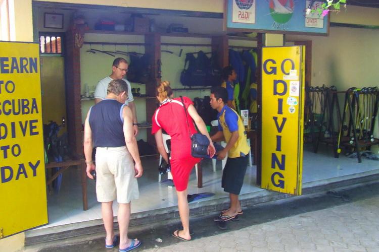 magasin de plongée amed centre de plongée