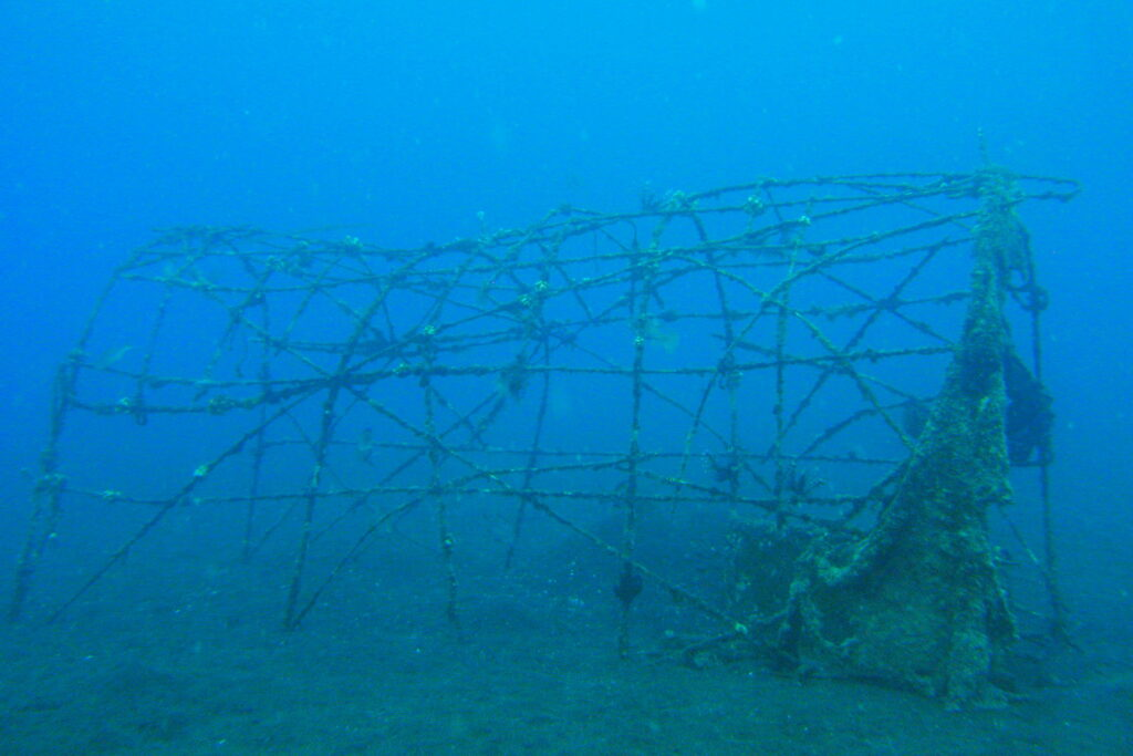 artificial reef Amed Ghost Bay - Bali