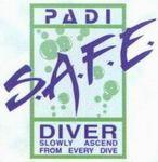 Logo PADI Safe Diver