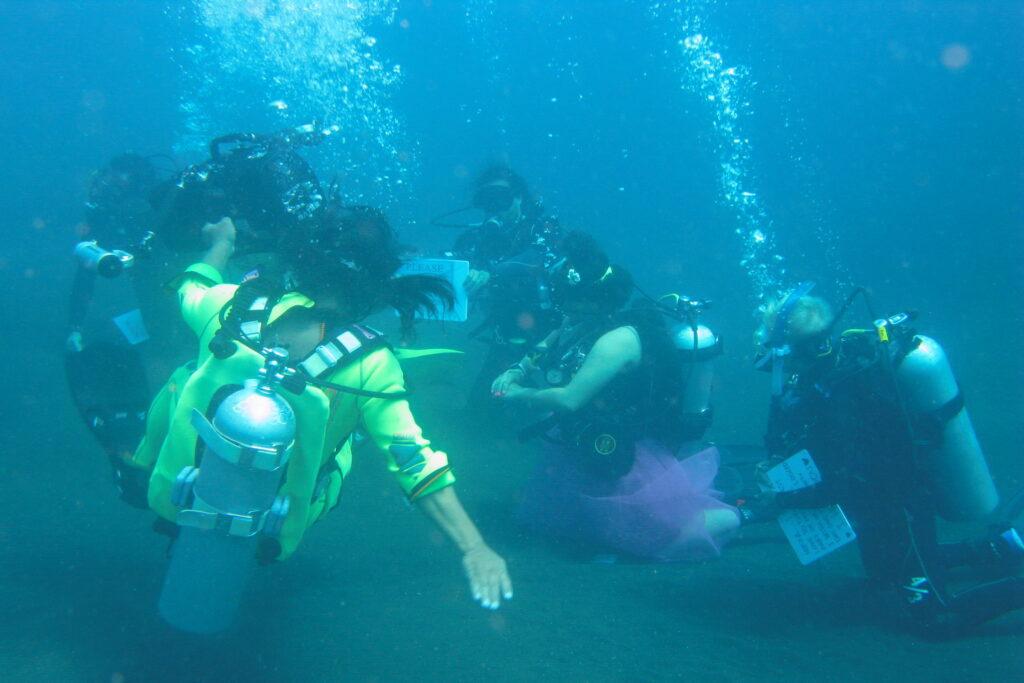 PADI & SSI Cours plongée avec Amed Dive Center Bali