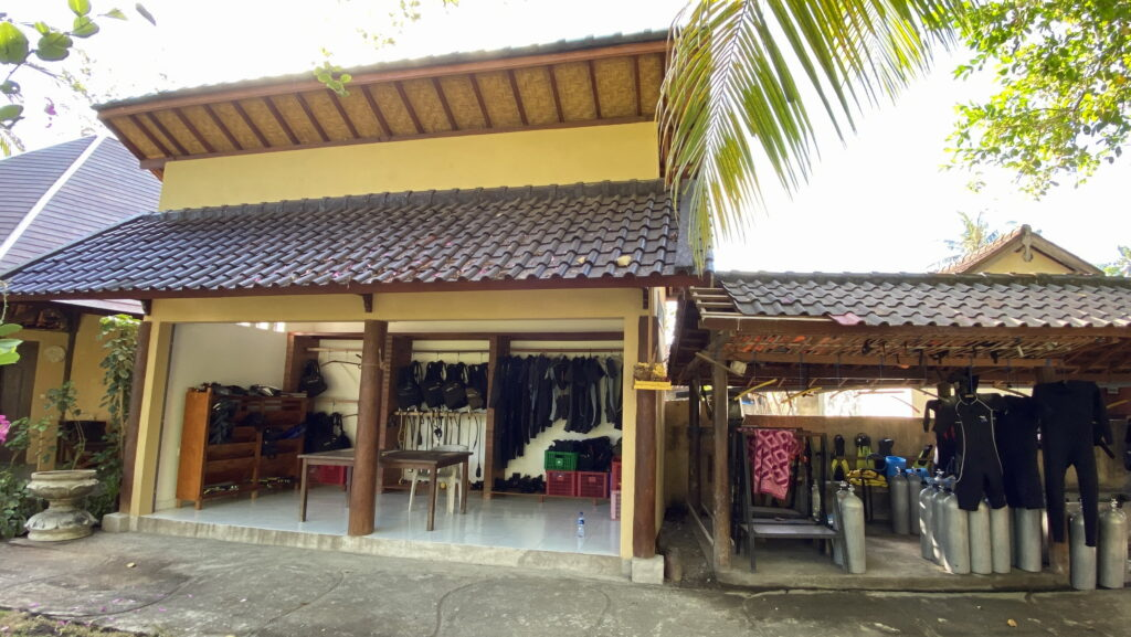 Amed Dive Center Bali Dive sites