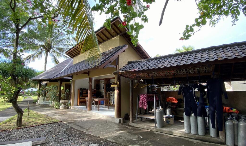 Sites de plongée Amed Dive Center Bali